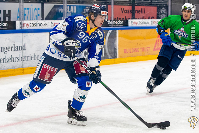 Swiss League - 20/21: EVZ Academy - HC Biasca Ticino Rockets - 17-09-2020