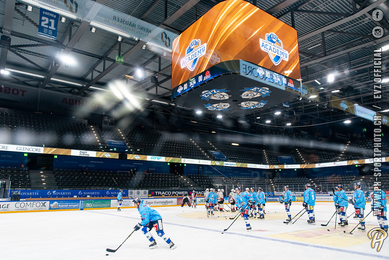 Swiss League - 20/21: EVZ Academy - EHC Visp - 02-10-2020