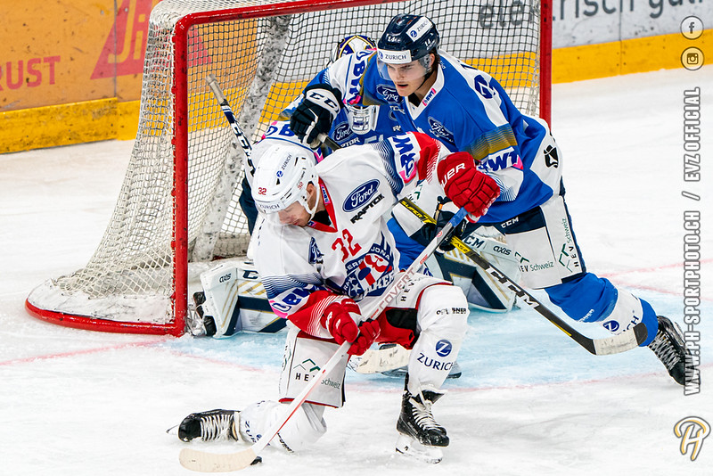Swiss Ice Hockey Cup - 20/21: EVZ Academy - SC Rapperswil-Jona Lakers - 04-10-2020