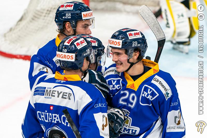 Swiss League - 20/21: EVZ Academy - EHC Olten - 14-10-2020