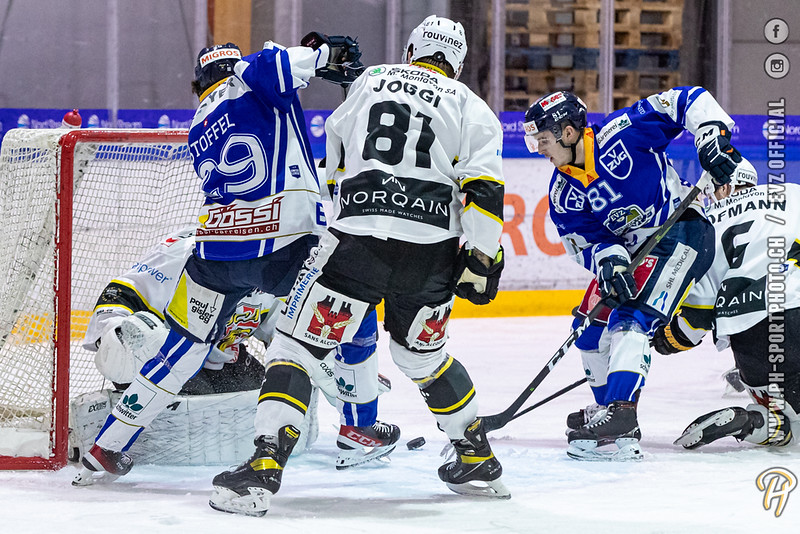 Swiss League - 20/21: EVZ Academy - HC Ajoie - 27-11-2020