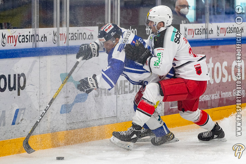 Swiss League - 20/21: EVZ Academy - EHC Winterthur - 12-12-2020