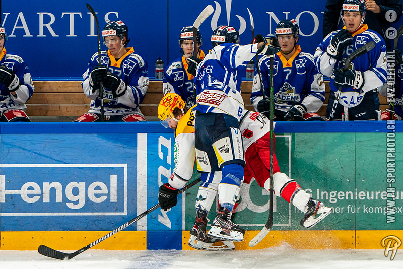 Swiss League - 20/21: EVZ Academy - EHC Winterthur - 19-12-2020