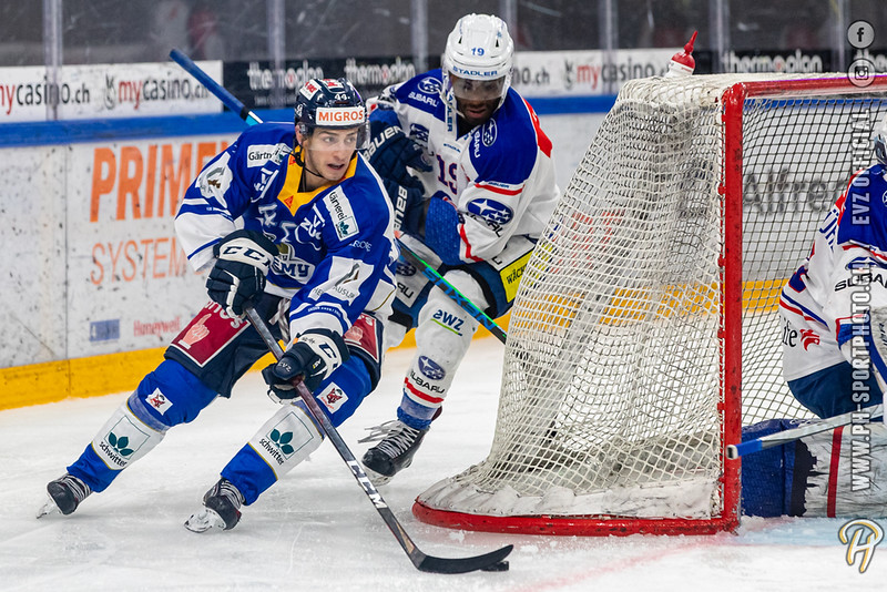 Swiss League - 20/21: EVZ Academy - GCK Lions - 10-02-2021