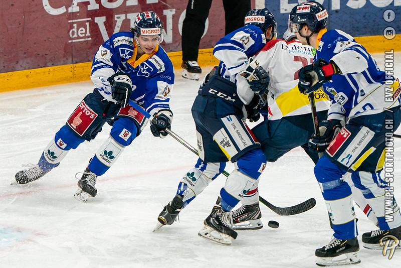 Swiss League - 20/21: EVZ Academy - HC Biasca Ticino Rockets - 14-02-2021