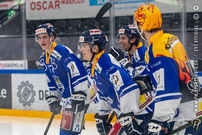 Swiss League - 20/21: EVZ Academy - HC La Chaux-de-Fonds - 24-02-2021