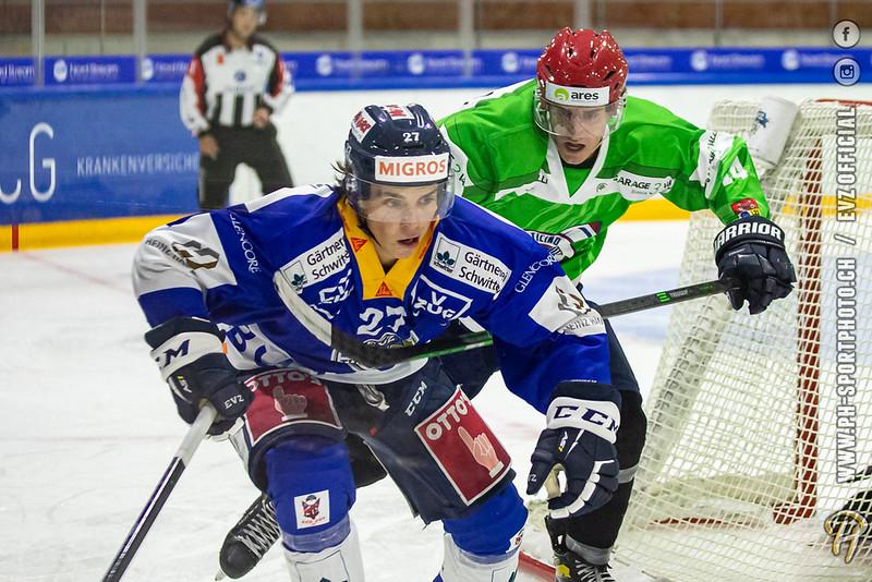 Swiss League - 21/22: EVZ Academy - HC Biasca Ticino Rockets - 21-08-2021