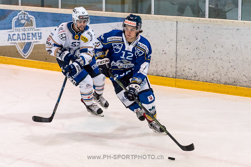 National League B: EVZ Academy - HC La Chaux-de-Fonds - 0:6