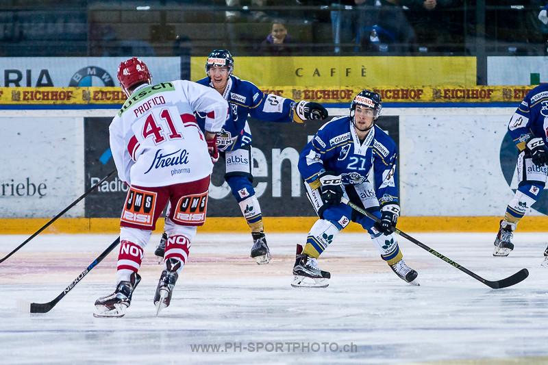 National League B: EVZ Academy - SC Rapperswil-Jona Lakers - 4:3