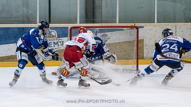 National League B: EVZ Academy - EHC Winterthur - 3:1