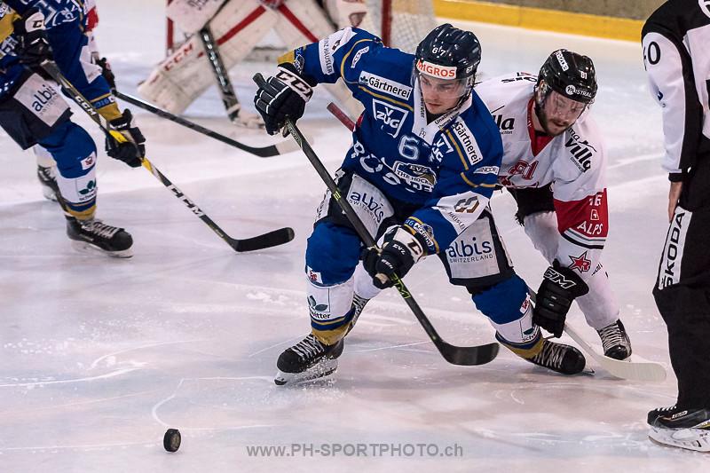 National League B: EVZ Academy - HC Red Ice - 0:7