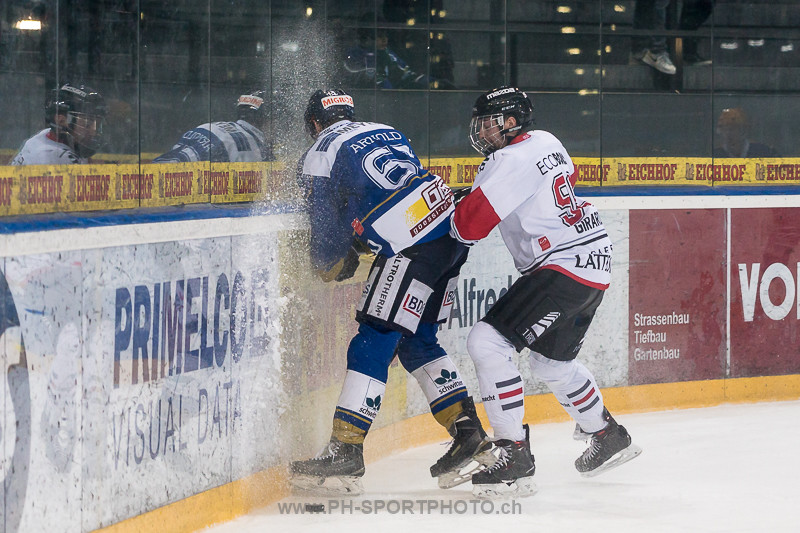 National League B: EVZ Academy - HC Red Ice - 1:3