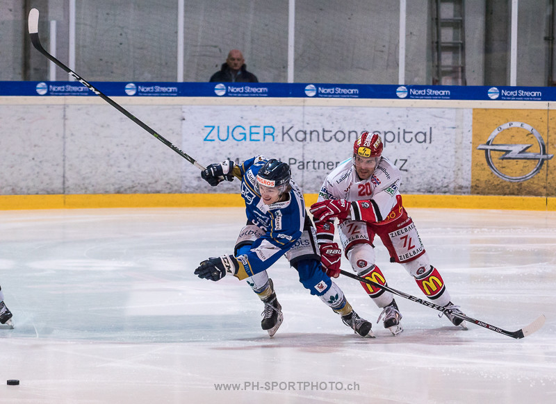 National League B: EVZ Academy - EHC Winterthur - 3:4