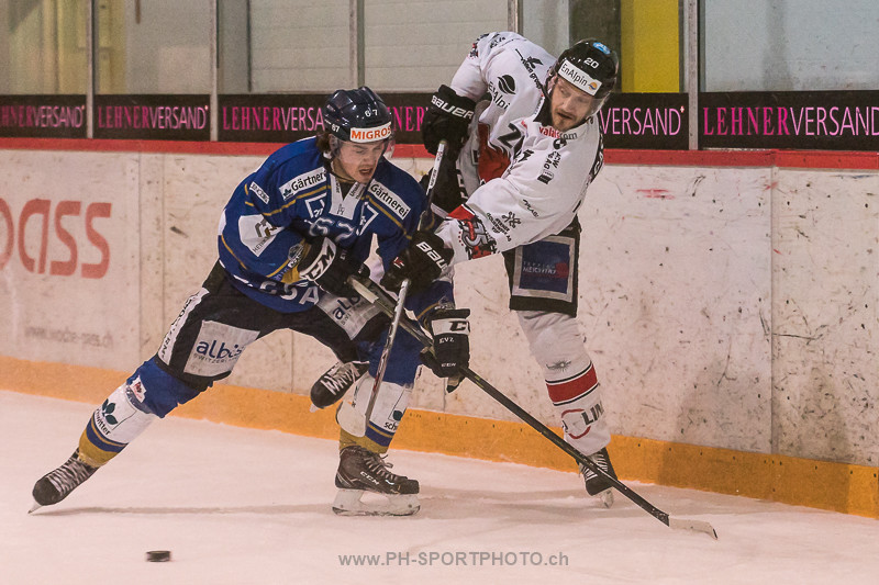National League B: EVZ Academy - EHC Visp - 2:6