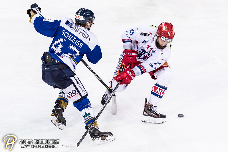 Swiss League: EVZ Academy - SC Rapperswil-Jona Lakers - 1:6