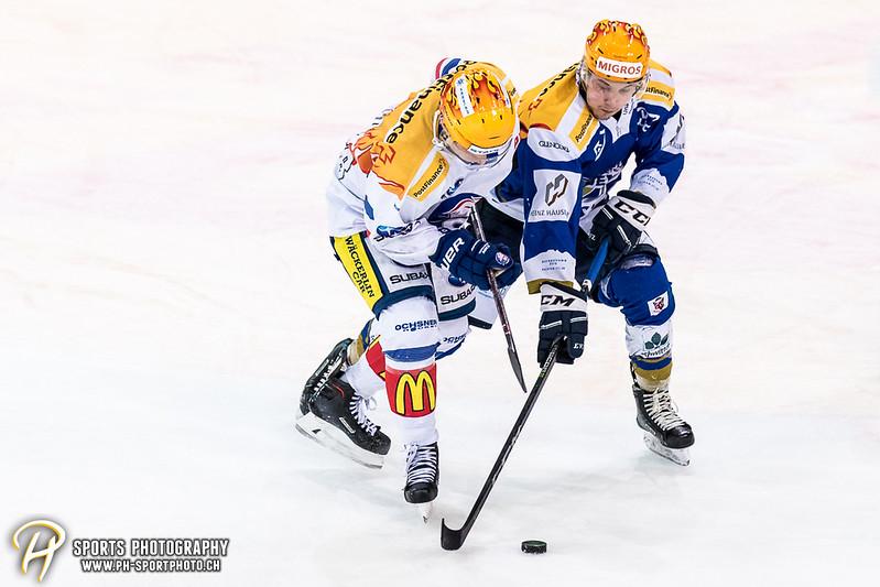 Swiss League: EVZ Academy - GCK Lions - 8:1