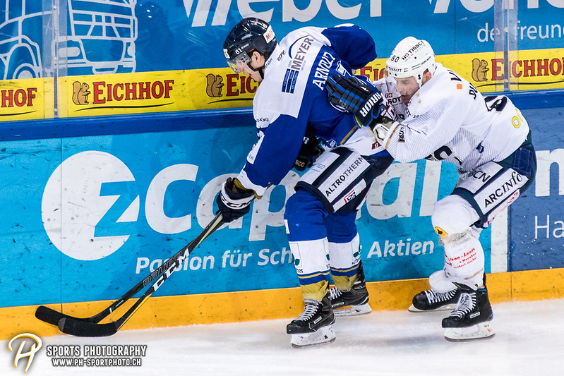 Swiss League: EVZ Academy - HC La Chaux-de-Fonds - 0:7