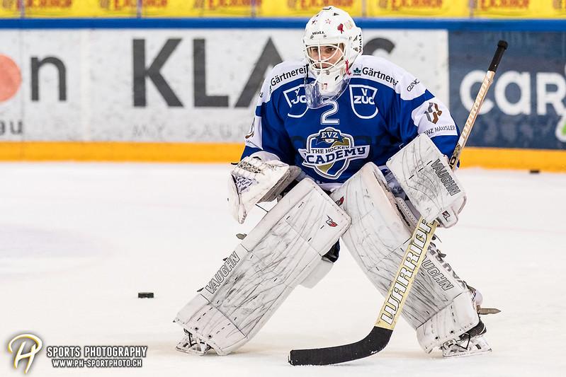 Swiss League: EVZ Academy - HC La Chaux-de-Fonds - 0:7