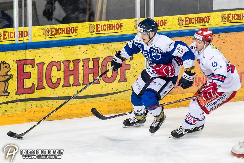 Swiss League Playoffs - Viertelfinal - Spiel 2: EVZ Academy - SC Rapperswil-Jona Lakers - 1:6