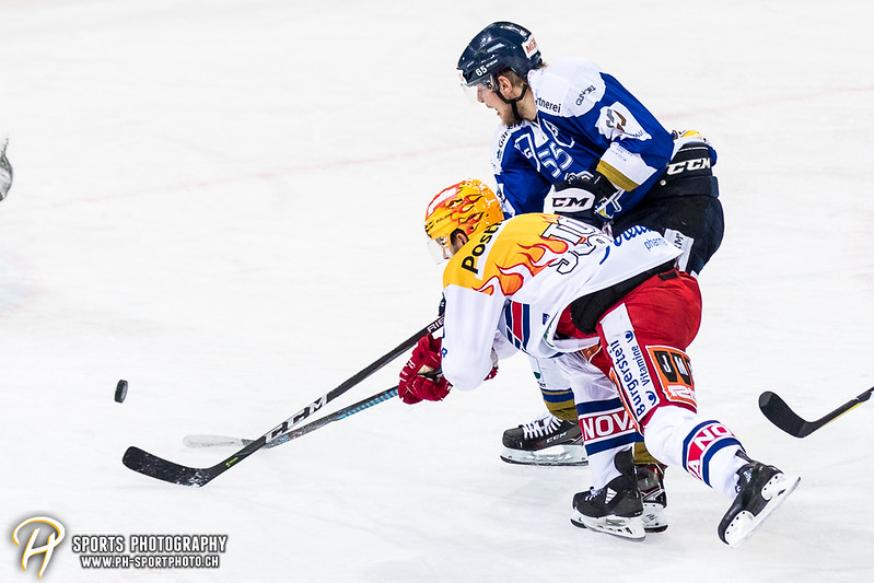 Swiss League - Viertelfinal - Spiel 4: EVZ Academy - SC Rapperswil-Jona Lakers - 1:2 OT