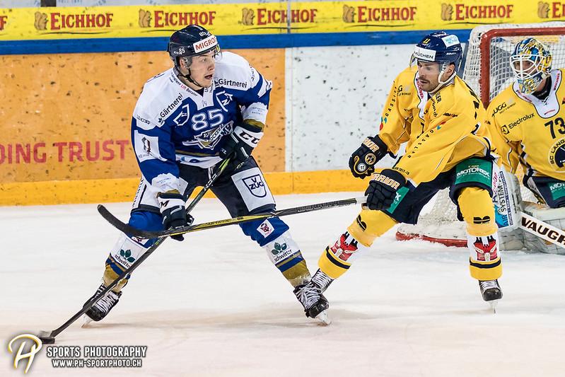 Swiss League: EVZ Academy - SC Langenthal - 6:2