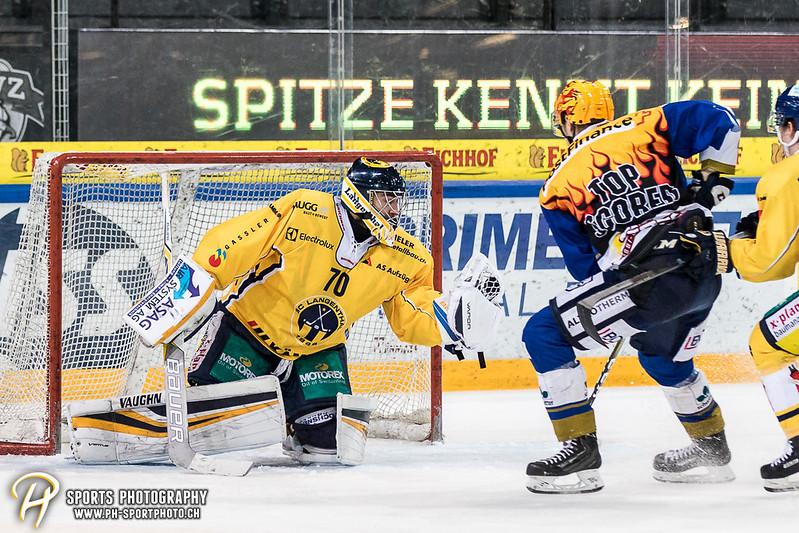 Swiss League: EVZ Academy - SC Langenthal - 2:5