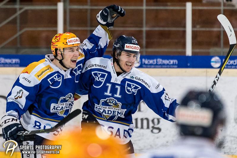 Swiss League: EVZ Academy - HC Ajoie - 5:4 OT
