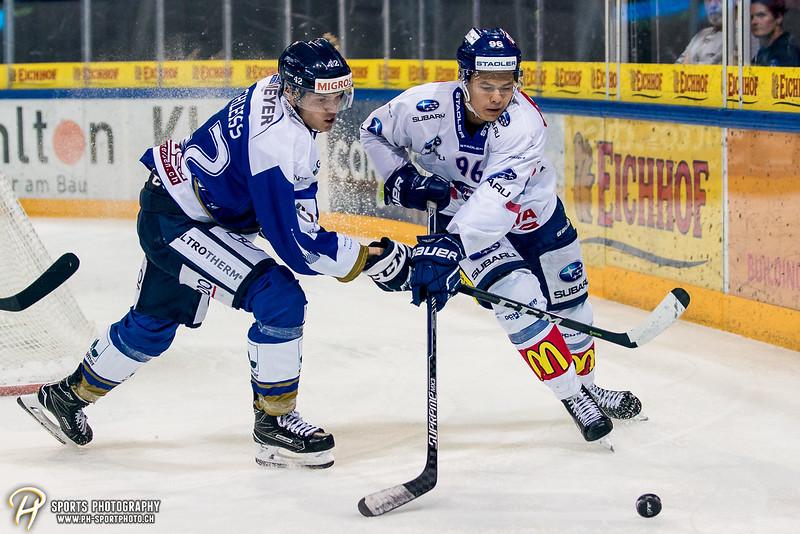 Swiss League: EVZ Academy - GCK Lions - 6:3