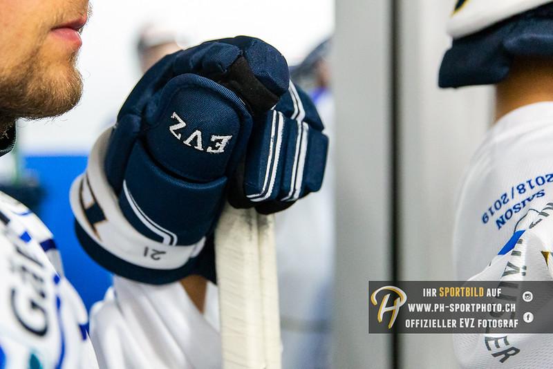 internes Testspiel - 18/19: EV Zug - EVZ Academy - 11-08-2018