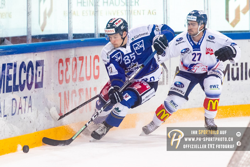 Swiss League - 18/19: EVZ Academy - GCK Lions - 15-09-2018