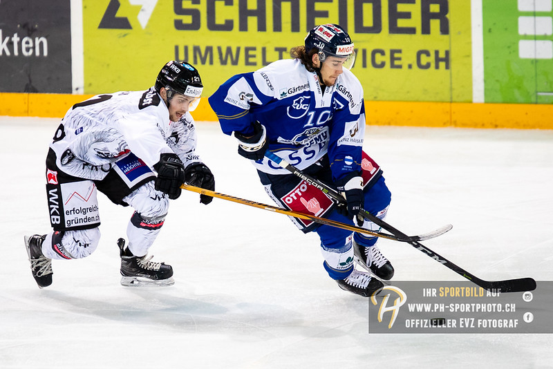 Swiss League - 18/19: EVZ Academy - EHC Visp - 09-10-2018