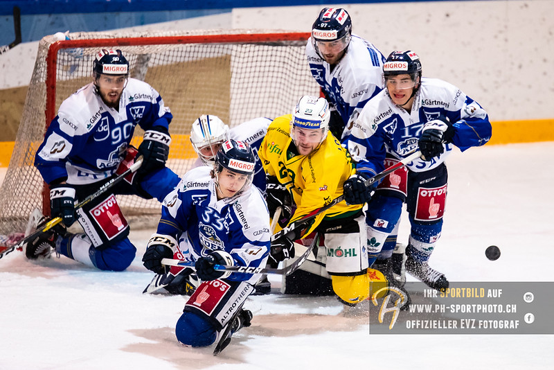 Swiss League - 18/19: EVZ Academy - HC Thurgau - 14-10-2018