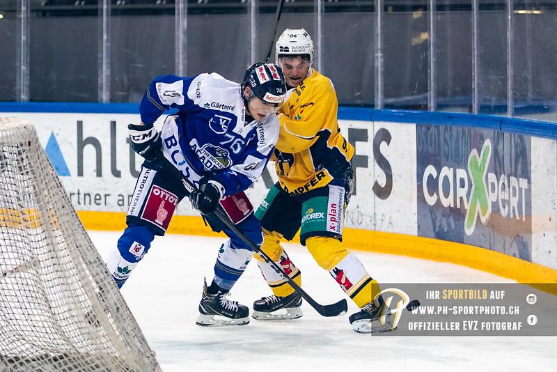 Swiss League - 18/19: EVZ Academy - SC Langenthal - 02-11-2018