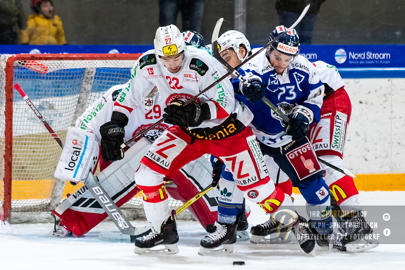 Swiss League - 18/19: EVZ Academy - EHC Winterthur - 18-11-2018