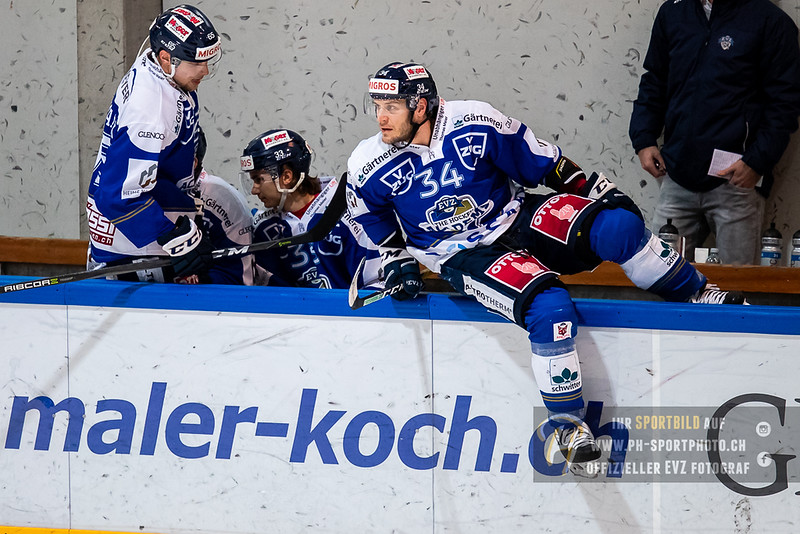 Swiss League - 18/19: EVZ Academy - HC Biasca Ticino Rockets - 09-12-2018
