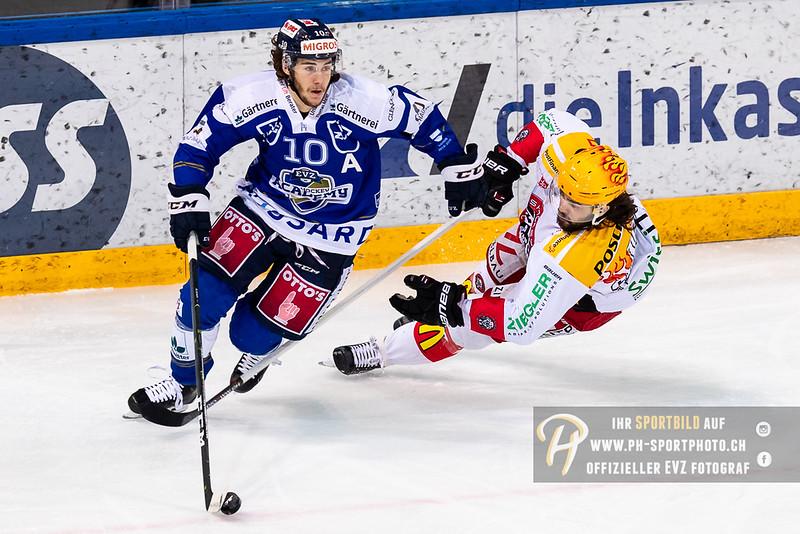 Swiss League - 18/19: EVZ Academy - EHC Winterthur - 23-12-2018