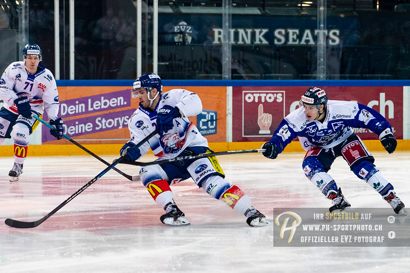 Swiss League - 18/19: EVZ Academy - GCK Lions - 12-01-2019