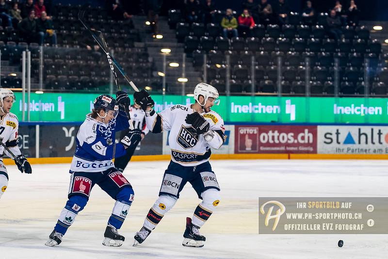 Swiss League - 18/19: EVZ Academy - HC La Chaux-de-Fonds - 23-01-2019