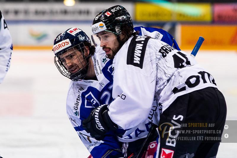 Swiss League - 18/19: EVZ Academy - EHC Visp - 01-02-2019