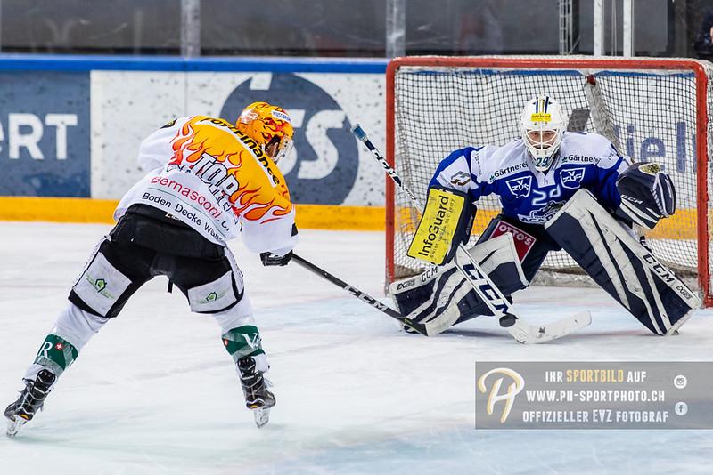 Swiss League - 18/19: EVZ Academy - EHC Olten - 17-02-2019
