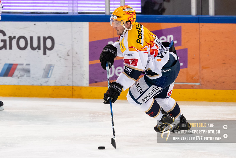 Swiss League - Playoff Viertelfinal - Spiel 2 - 18/19: EVZ Academy - HC La Chaux-de-Fonds - 24-02-2019