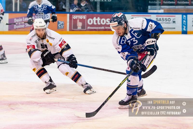 Swiss League - Playoff Viertelfinal - Spiel 2 - 18/19: EVZ Academy - HC La Chaux-de-Fonds - 24-02-2019