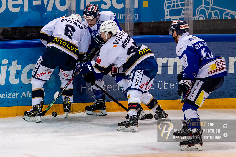 Swiss League - Playoff Viertelfinal - Spiel 4 - 18/19: EVZ Academy - HC La Chaux-de-Fonds - 01-03-2019