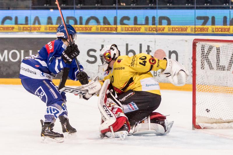 Elite A Junioren 2014/15 - Der EV Zug schafft den Finaleinzug gegen den SC Bern Future mit 3:1