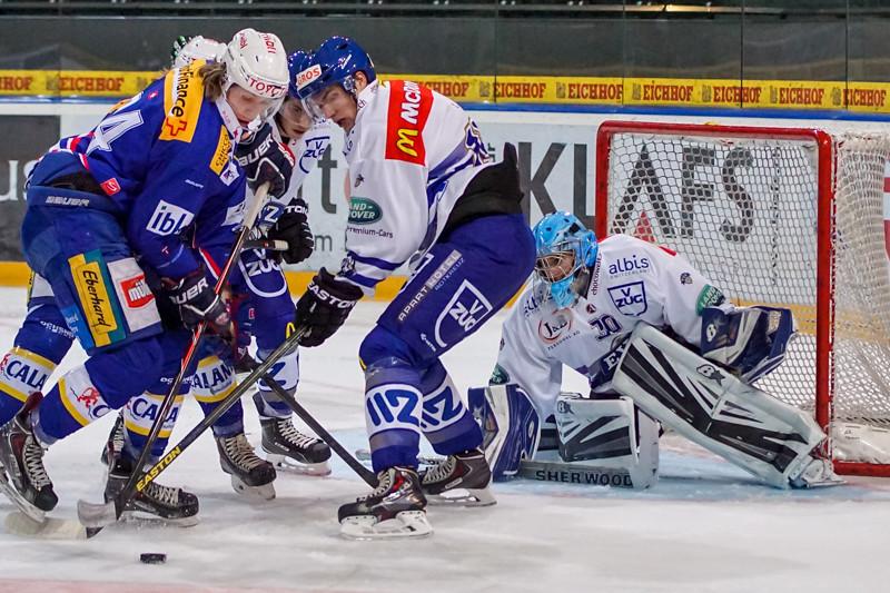 Junioren-Elite Tournament 2014 - Der EV Zug verliert nach Penalty gegen die Kloten Flyers 3:4