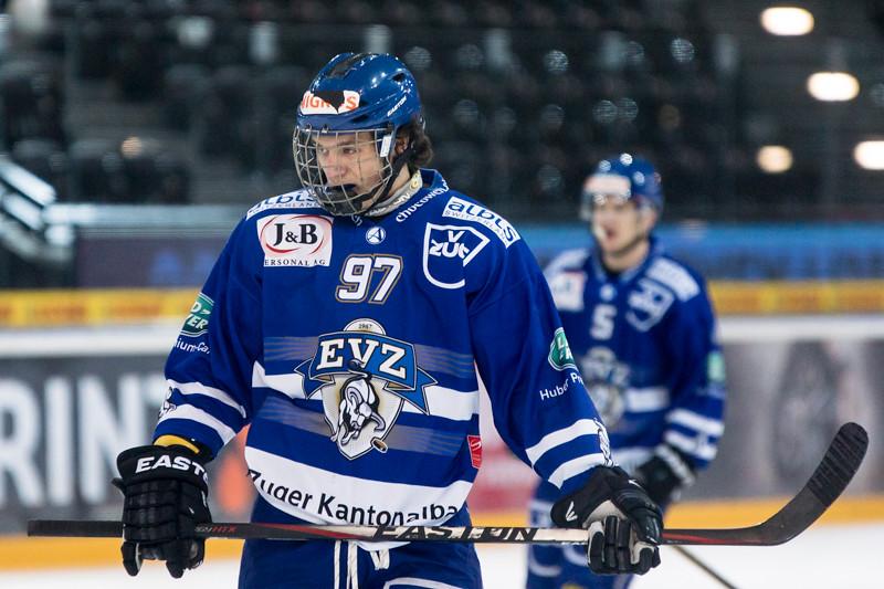 Elite A Junioren 2014/15 - Der EV Zug gewinnt im dritten Playoff 1/4 Finalspiel gegen den Gottéron MJ Sàrl 8:1