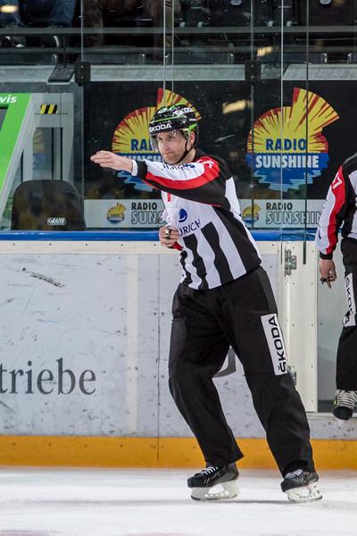 Elite A Junioren 2014/15 - Der EV Zug verliert im ersten Playoff 1/2 Finalspiel gegen den SC Bern Future 2:5