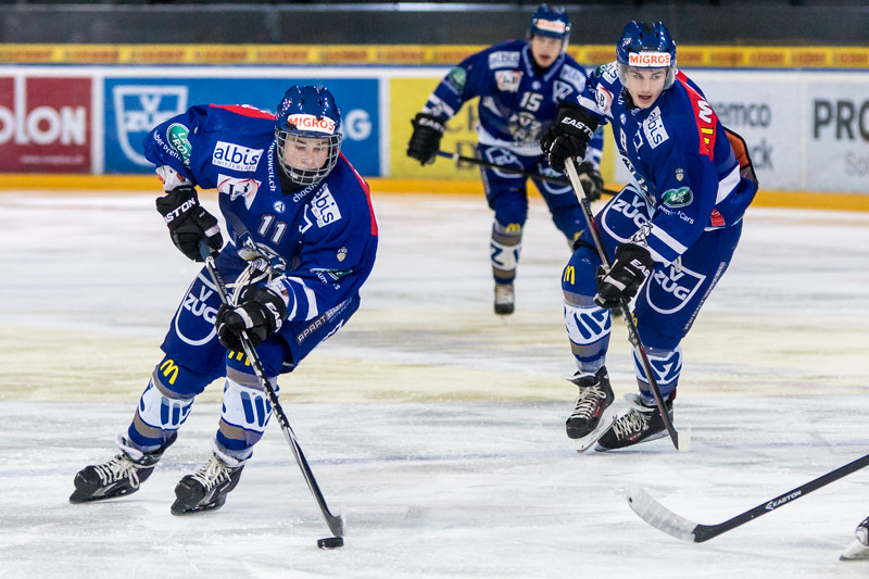 EVZ Elite A Junioren - Highlights der Saison 2014-2015