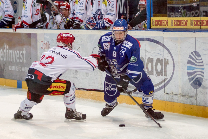 Elite A Junioren 2015/16 - EV Zug besiegt die Rapperswil-Jona Lakers 2:0