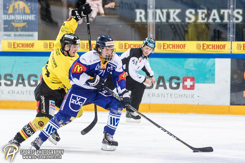 Junioren Elite A: EV Zug - SC Bern Future - 4:1